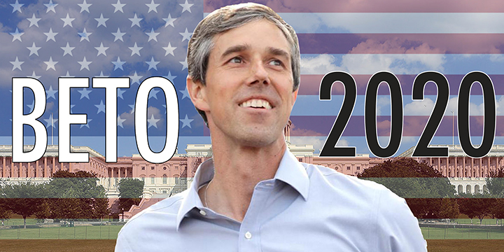 O'Rourke is best fit to defeat Trump in 2020