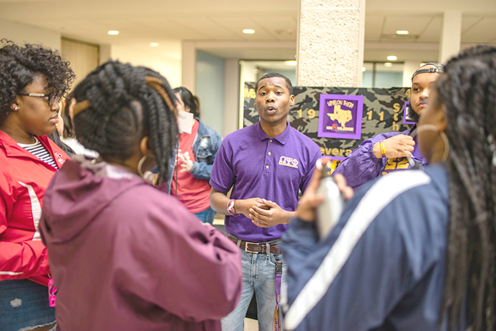 Student org involvement helps recruitment