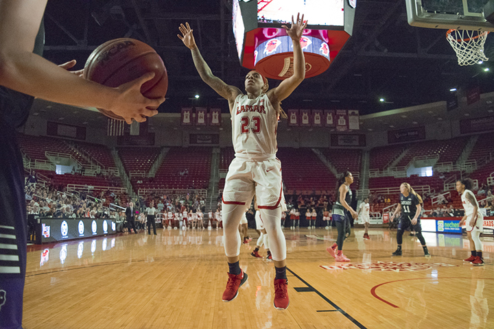Lady Cards avenge prior SFA loss with  62-46 victory