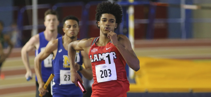 LU track and field star, Webster Slaughter,r hopes to run in the  400-meter dash in the Olympics.  His current running time is  47 seconds, only two seconds off from the qualifying mark for the Olympic trials. Courtesy photo