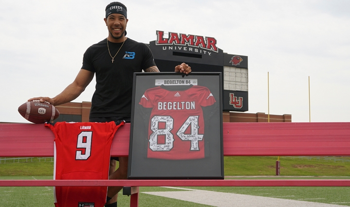 Lamar alumnus shares football story from FCS level to CFL