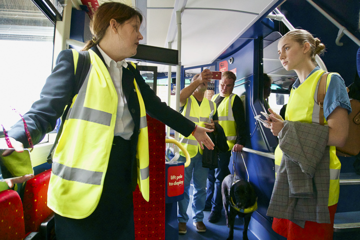 Brighton buses focus on easing accessibility