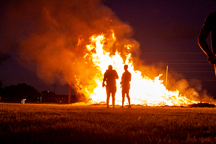 In pictures: Homecoming Pep Rally, Bonfire