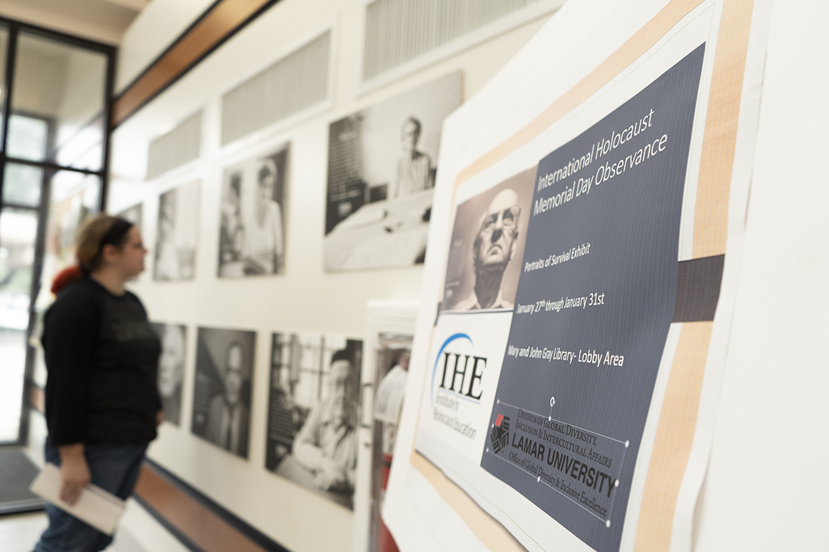 Holocaust Gallery Exhibit - 'Portraits of Survival on Display