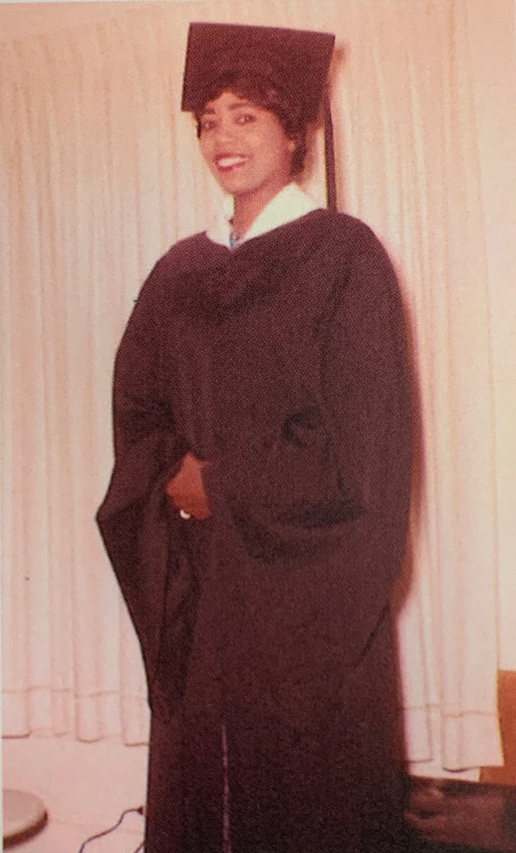 Pat Willard from her graduation from Lamar in 1960.. Photos courtesy of Photo courtesy of David Willard