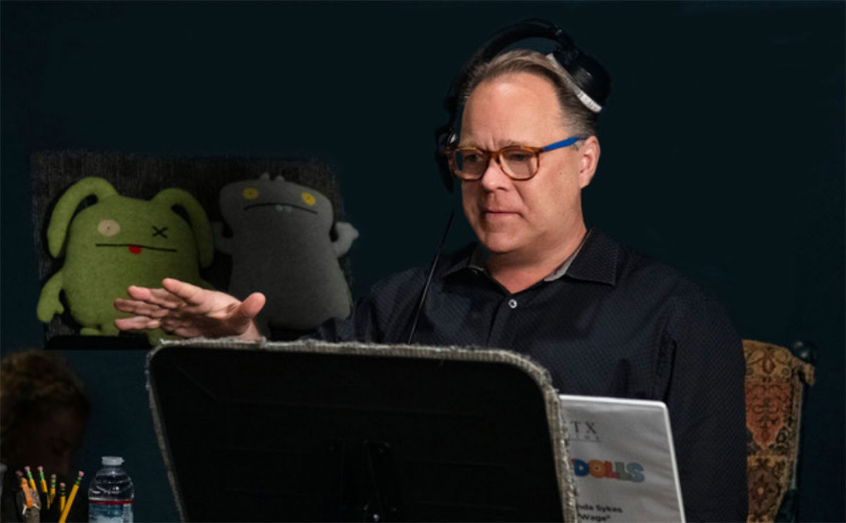 "Director Kelly Asbury works on the animated film ""Uglydolls."" Asbury, who attended Lamar University, died June 24 from abdominal cancer."