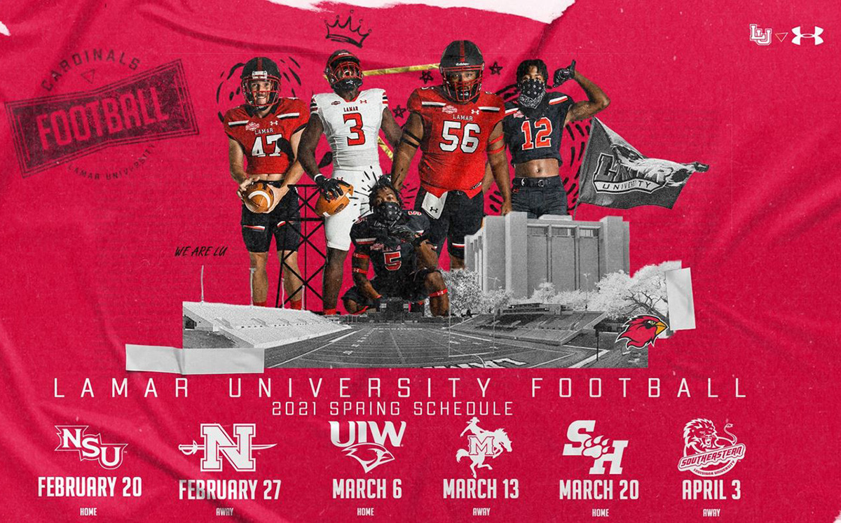 Cardinals release 2021 spring football schedule