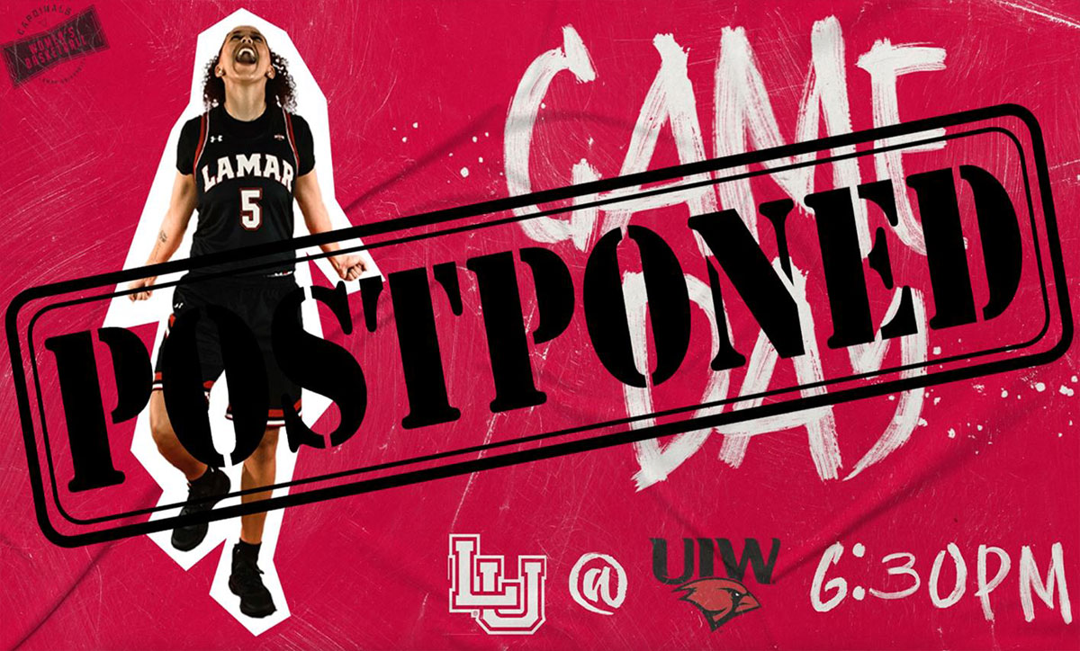 Women's Hoops at UIW Postponed on Wednesday