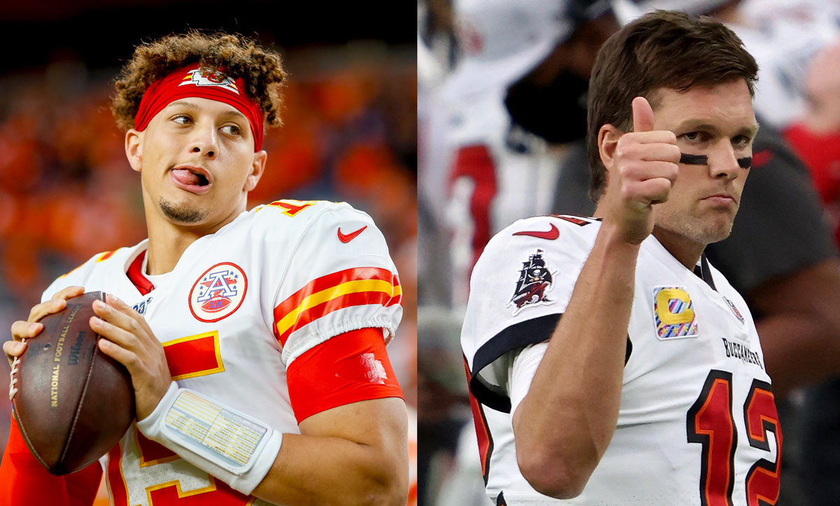 Patrick Mahomes' Kansas City Chiefs play Tom Brady's Tampa Bay Buccaneers in Super Bowl LV, Sunday