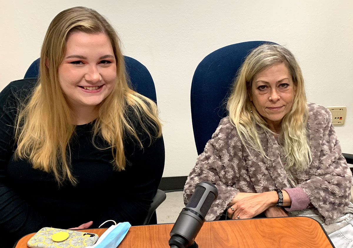 UP editor Olivia Malick, left, and photojournalist Kim Brent of the Beaumont Enterprise